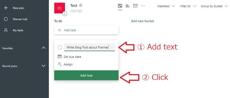 Microsoft Plannerの使い方 1