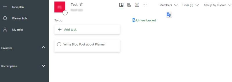 Microsoft Plannerの使い方 2